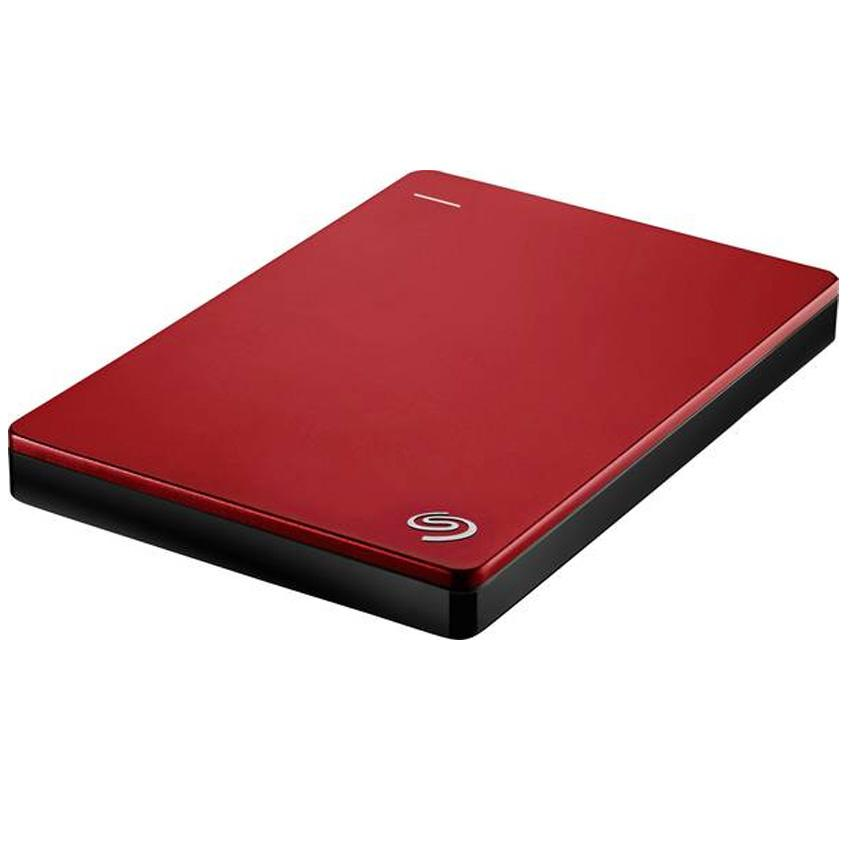 Seagate - Backup Plus Slim - 1 TB - Externe harde schijf - HDD - Rood