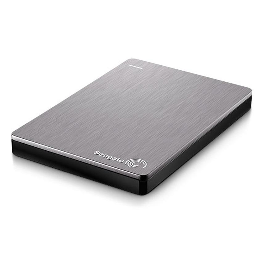 Seagate - Backup Plus Slim - 2 TB - Externe harde schijf - HDD - Zilver