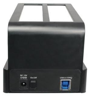 LogiLink - Docking station - Zwart