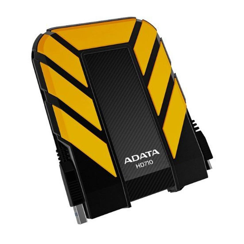 Adata - DashDrive Durable HD710 - 1 TB - Externe harde schijf - HDD - Geel